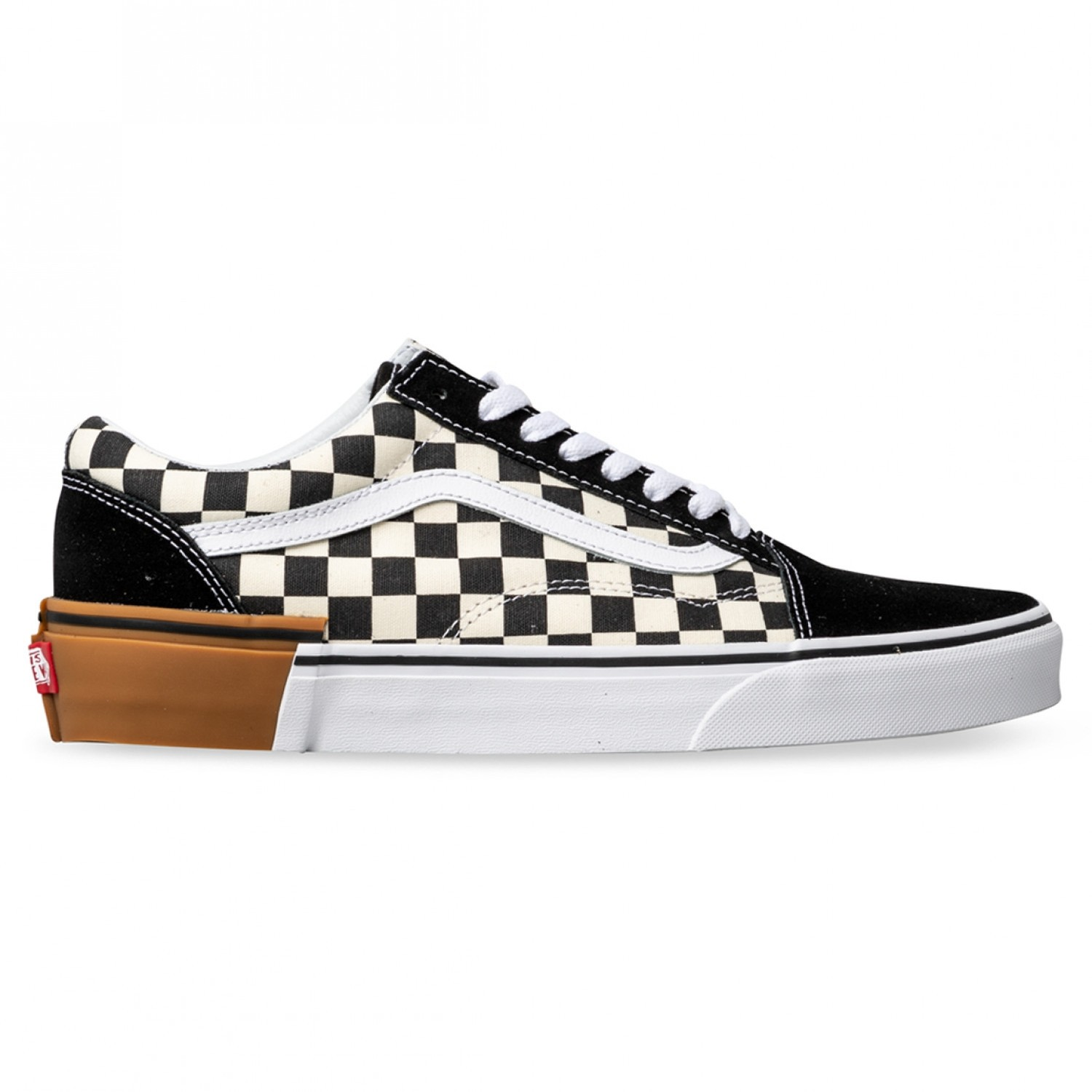 Old Skool (Gum Block) Checkerboard Black/White