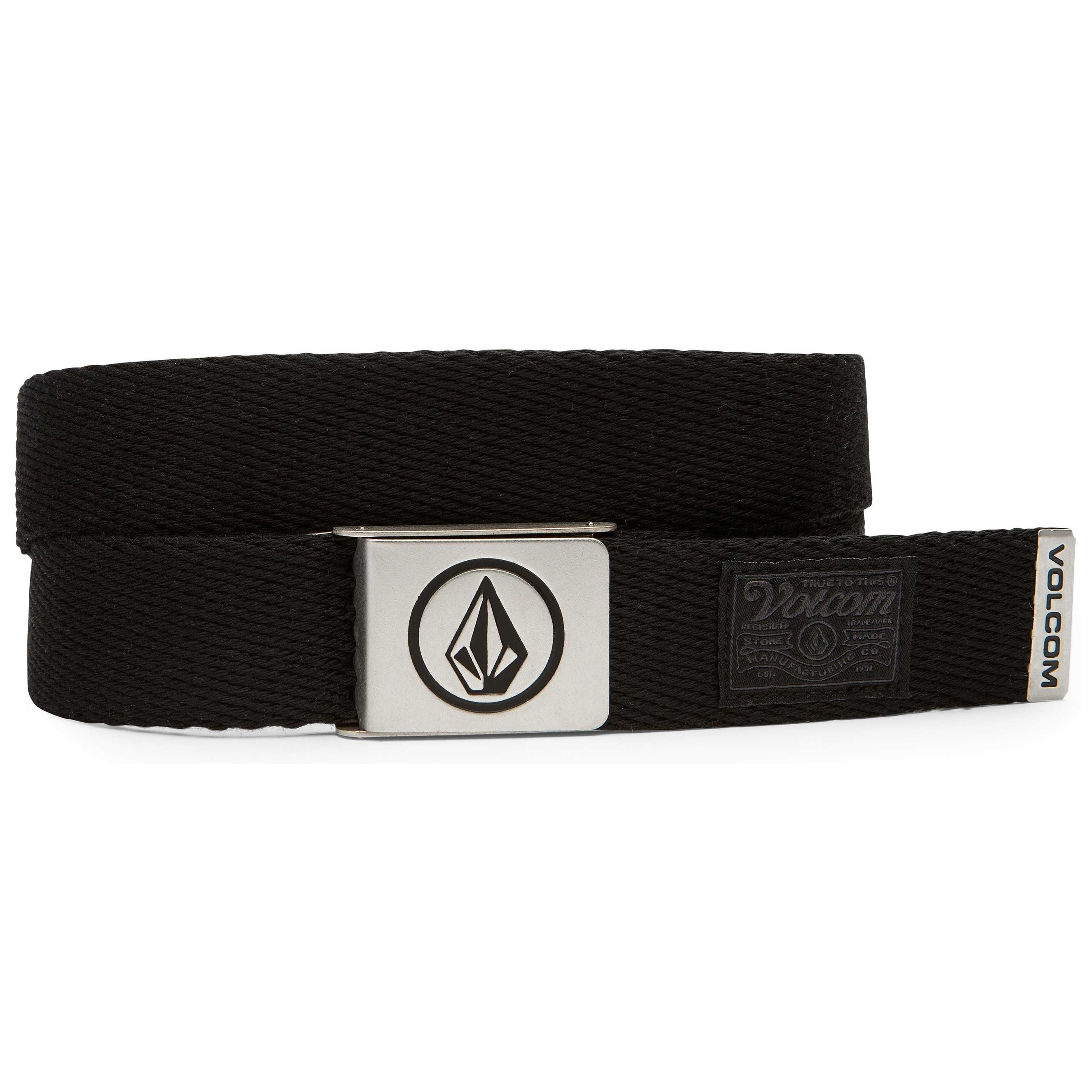 Volcom Circle Web Belt (Stoney Black)