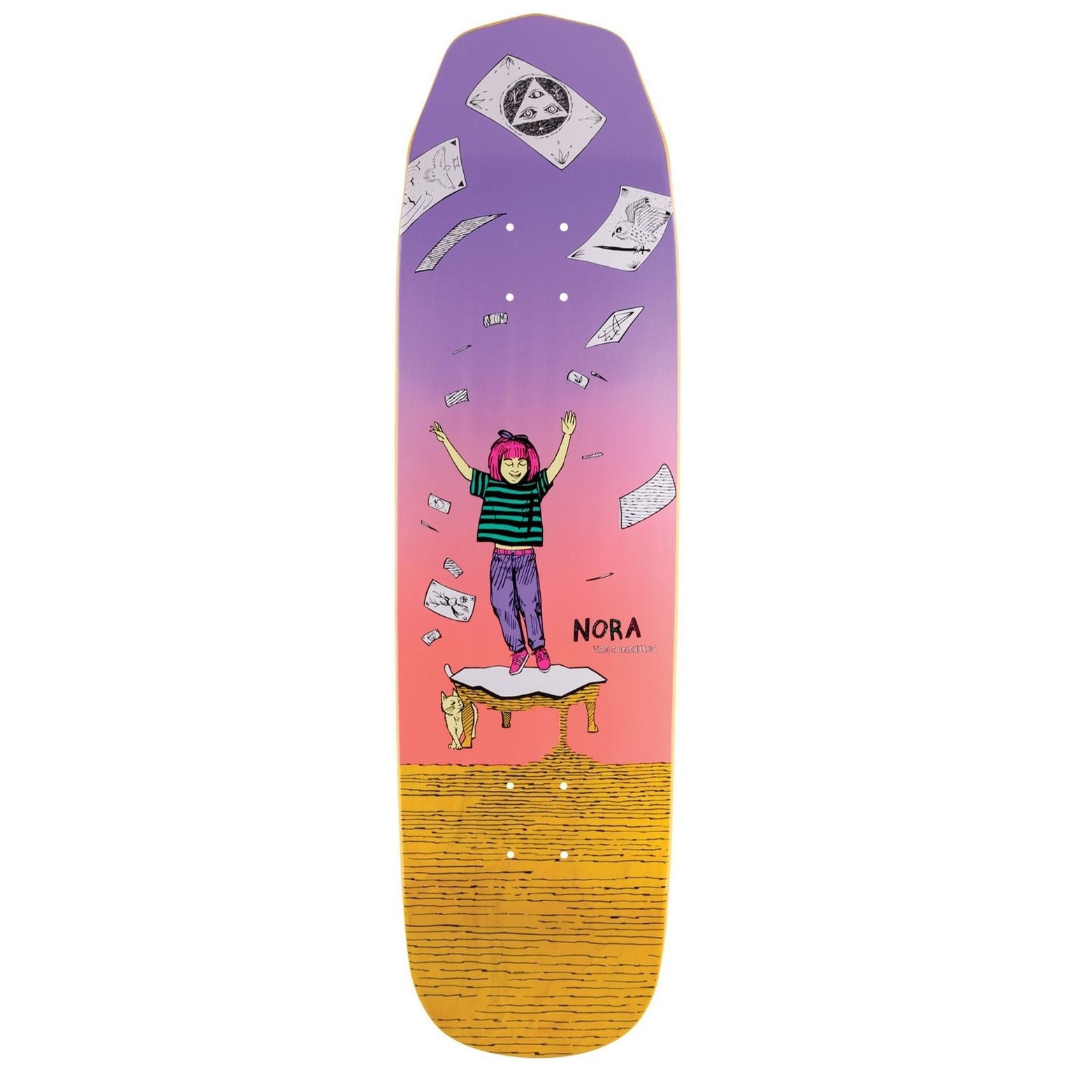 Vasconcellos Magilda Mini Deck (7.6)