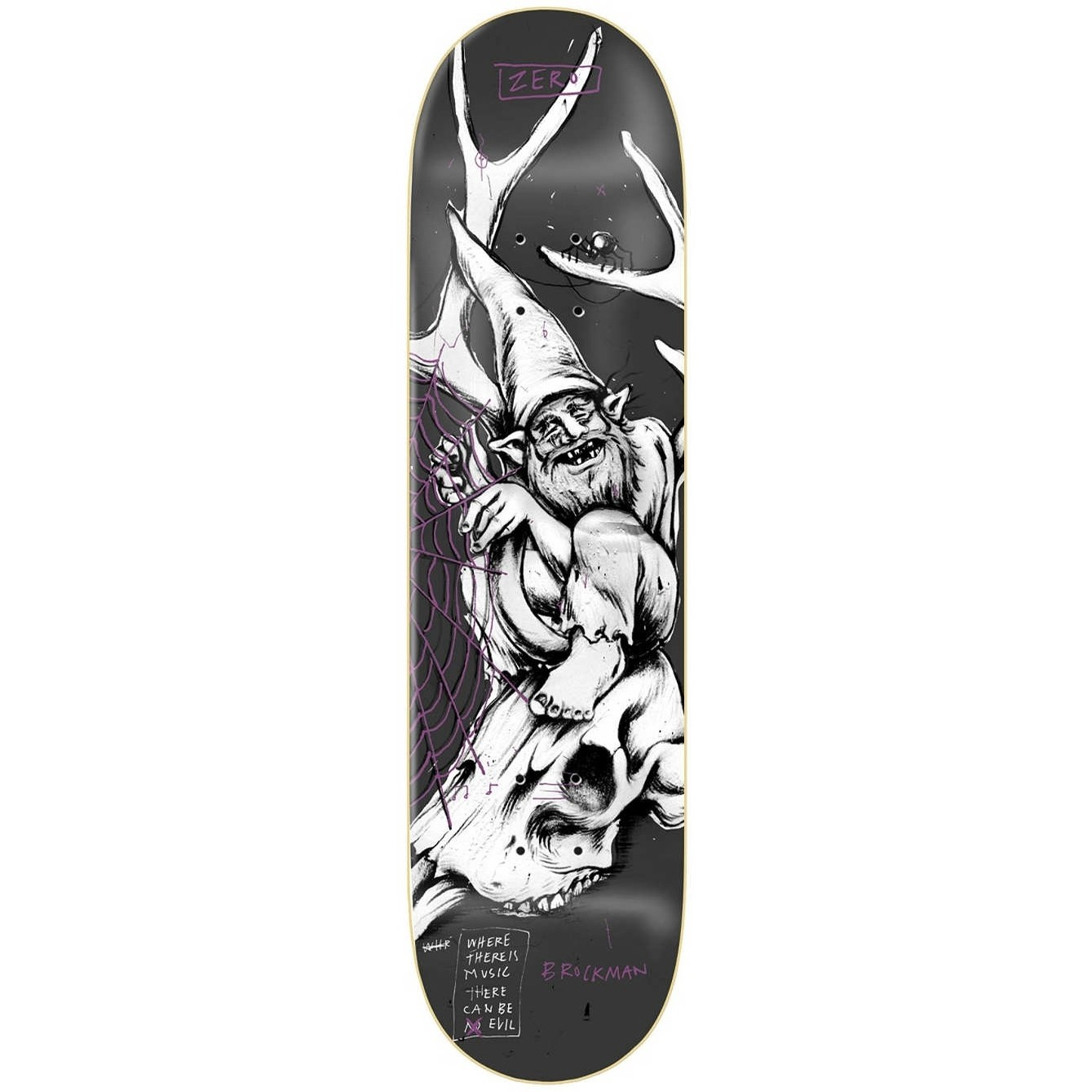 Brockman Gnarly Gnomes Deck (8.0)
